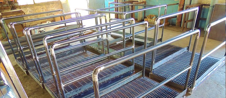 Commercial Building Steel Components